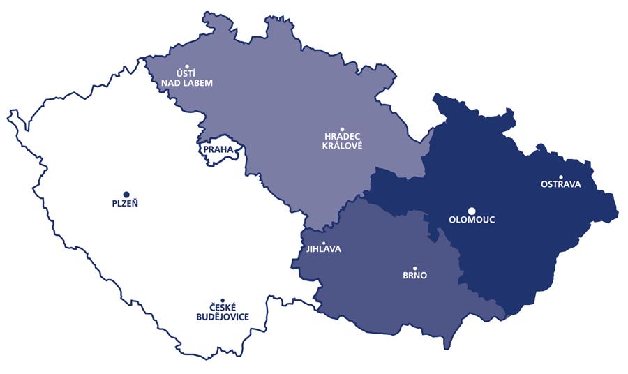 URSA - regiony OZ