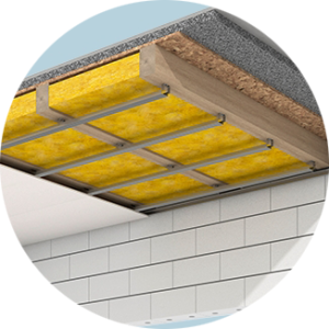 Izolace stropů a podhledů